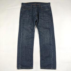 Levis 505 Regular Fit Straight Leg 36 X 30 Jeans